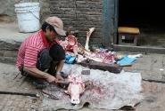 Разделка буйвола